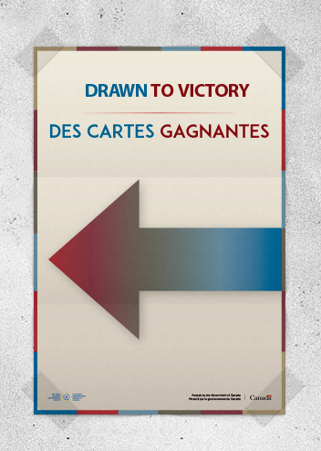 Drawn To Victory Event Directional Arrows